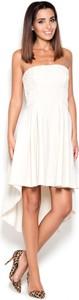 Sukienka sukienki.pl asymetryczna bez rękawów