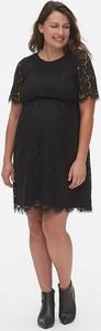 Czarna sukienka Gap z bawełny