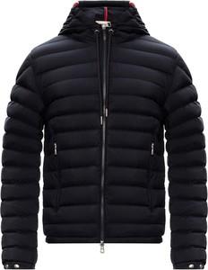 Czarna kurtka Moncler w stylu casual