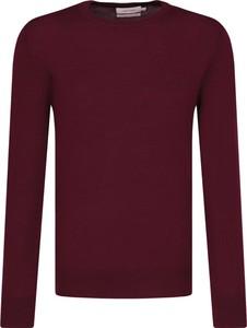 Sweter Calvin Klein z wełny w stylu casual
