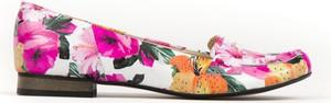Baleriny Zapato z zamszu w stylu boho