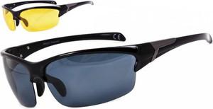 Stylion Sportowe okulary z dwoma soczewkami polaryzacyjnymi czarna i zolta - drs-50c1