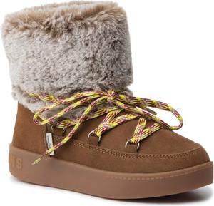 Buty dziecięce zimowe Pepe Jeans sznurowane
