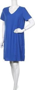 Sukienka Manguun mini z krótkim rękawem z dekoltem w kształcie litery v