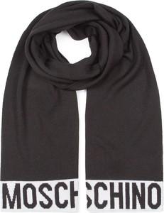 Czarny szalik Moschino