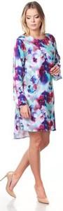 Sukienka Silje w stylu casual midi z okrągłym dekoltem