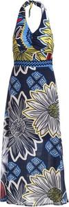 Sukienka Multu z dekoltem w kształcie litery v maxi