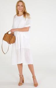 Sukienka Unisono w stylu casual z bawełny