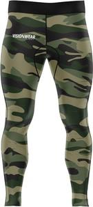 Zielone spodnie sportowe Vision Wear Sport