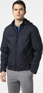 Niebieska kurtka Finshley & Harding w stylu casual krótka