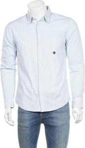 Koszula Abercrombie & Fitch z klasycznym kołnierzykiem z bawełny