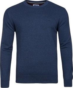 Niebieski sweter Redmond w stylu casual