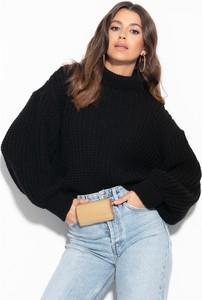 Czarny sweter Fobya z wełny