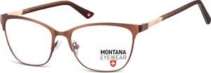 Stylion Oprawki Kocie optyczne Montana MM606F brązowe