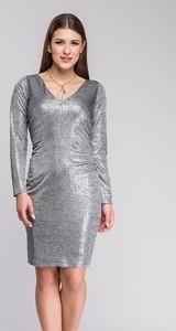 Srebrna sukienka Semper
