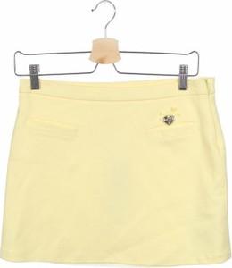 Żółta spódniczka dziewczęca Miss Blumarine