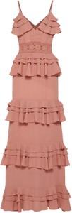 Boohoo sukienka 'darcey crochet'