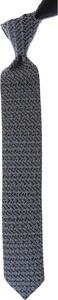 Niebieski krawat Christian Lacroix z jedwabiu