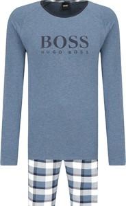 Niebieska piżama Boss