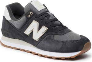 Buty sportowe męskie New Balance sznurowane brązowe