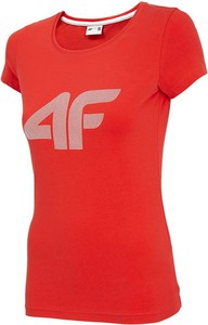 T-shirt 4F z okrągłym dekoltem