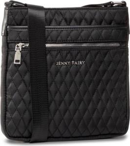 Czarna torebka Jenny Fairy na ramię średnia