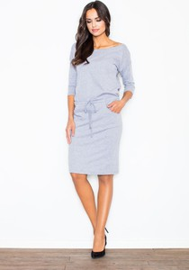edadc8207d bawełniana sukienka dresowa. - stylowo i modnie z Allani