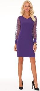 Sukienka Ptakmoda.com ołówkowa z długim rękawem mini