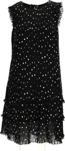 Czarna sukienka L'AF mini bez rękawów