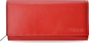 Czerwony portfel Cavaldi