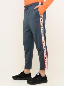 Granatowe spodnie sportowe Under Armour z dresówki