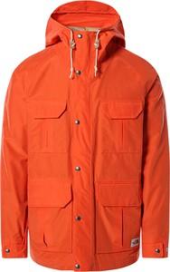 Pomarańczowa kurtka The North Face krótka