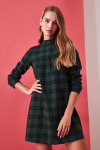 Zielona sukienka Trendyol mini w stylu casual