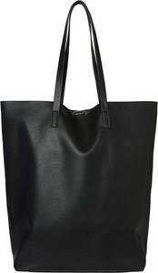 Czarna torebka WARESHOP matowa duża