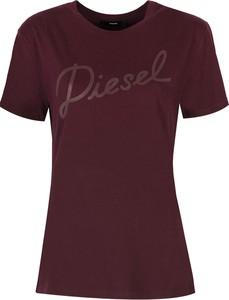 T-shirt ubierzsie.com z bawełny z okrągłym dekoltem