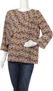 Bluzka Opus z okrągłym dekoltem z długim rękawem w stylu casual