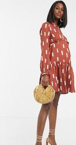 Sukienka Mama Licious asymetryczna mini