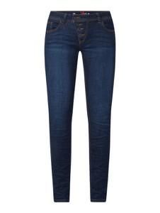 Granatowe jeansy Buena Vista z bawełny