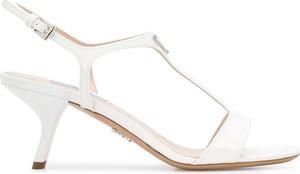 Sandały Prada z klamrami