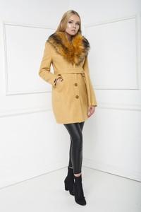 Żółty płaszcz Marcelini