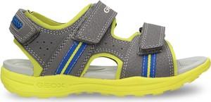 Brązowe buty dziecięce letnie Geox