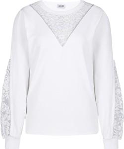 Bluza Liu-Jo krótka w stylu casual