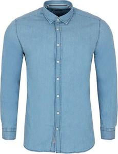 Niebieska koszula MEXX z bawełny