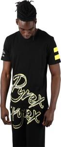T-shirt Pyrex z bawełny w młodzieżowym stylu
