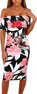 Elegrina letnia sukienka nisa kolorowa