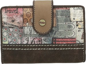 Brązowy portfel Anekke