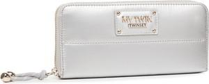 Srebrny portfel My Twin