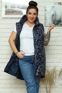 Kamizelka KARKO z tkaniny w stylu casual