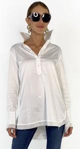 Koszula Soluzione z bawełny z kołnierzykiem z długim rękawem
