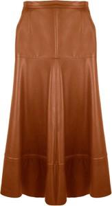Brązowa spódnica WIBS
